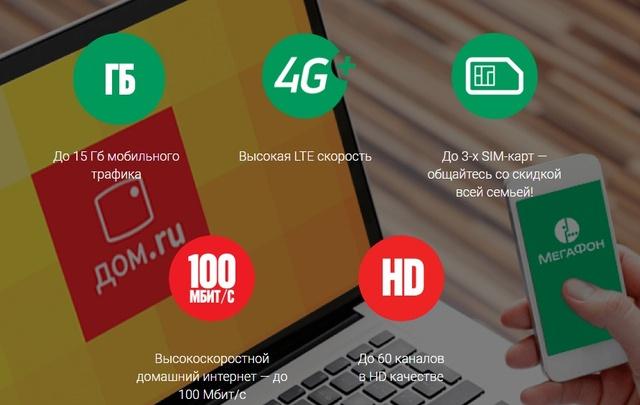 Абоненты «МегаФона» и «Дом.ru» сэкономили миллион