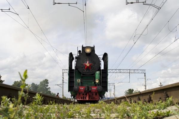 Во главе самого дорогого поезда мира окажется исторический паровоз