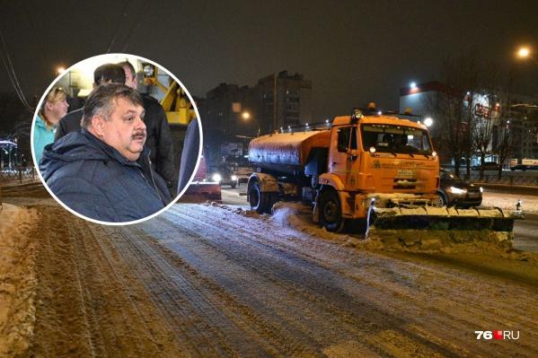 Эдуарда Снежкова увольняют с поста директора городского «Спецавтохозяйства»