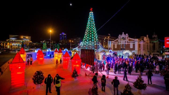 Сравни со своей ёлкой: рейтинг снежных городков из 15 городов России