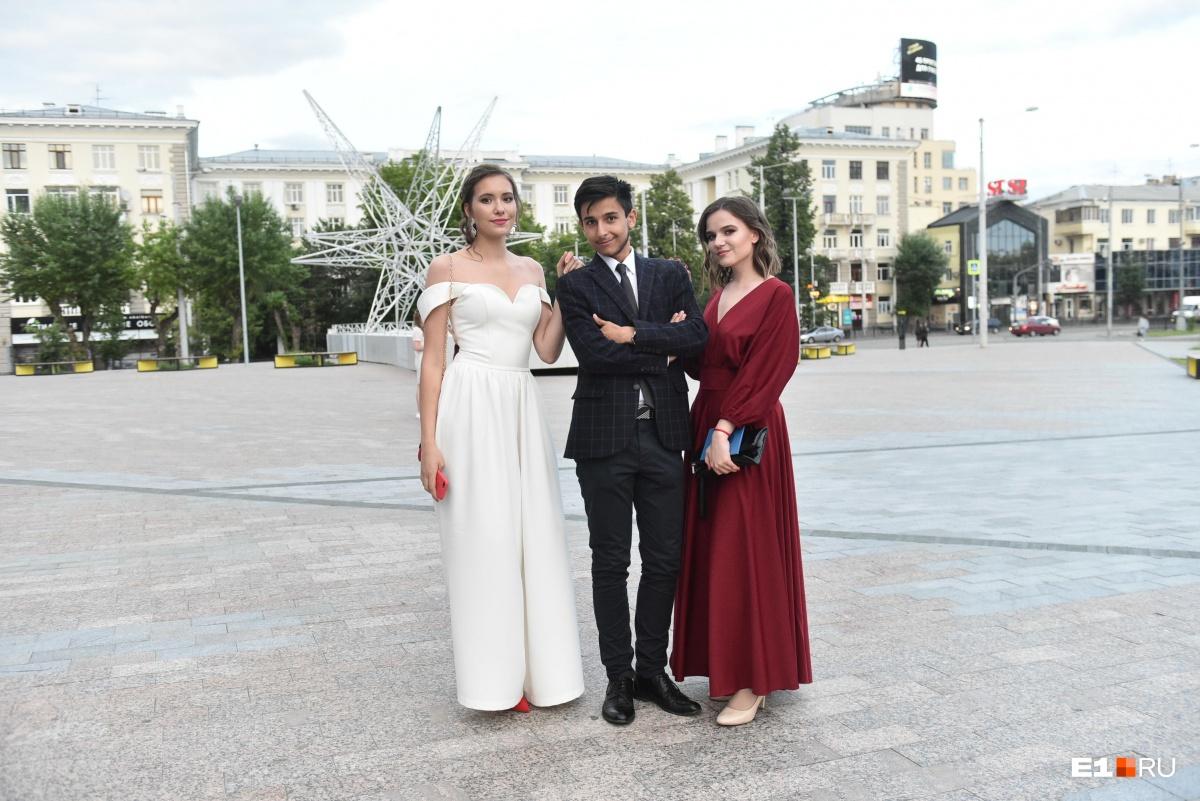 В лицее учатся не только ребята из Екатеринбурга, но и из других городов