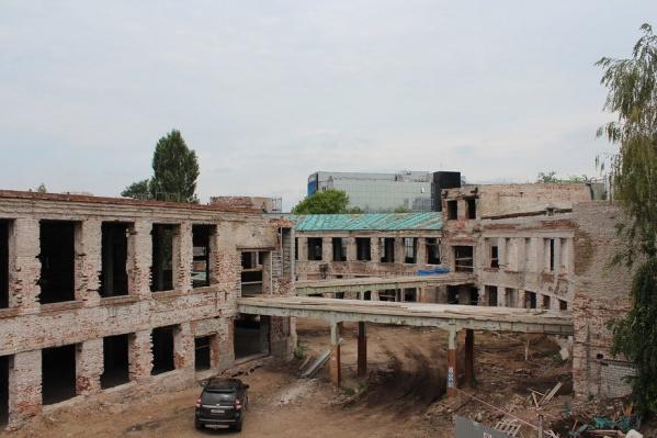 Сейчас здание будущего филиала федерального музея выглядит весьма плачевно
