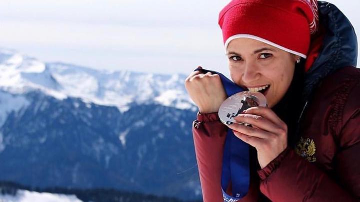 Пермская саночница Татьяна Иванова в шестой раз выиграла чемпионат Европы