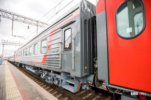 Ребенок получил травмы в вагоне поезда