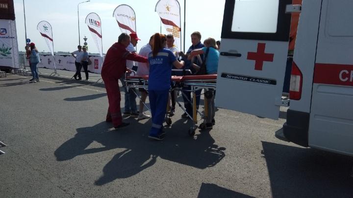 На Волгоградском марафоне стало плохо победителю из Тулы