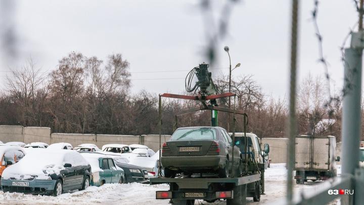 В Самарской области приступили к переделу системы эвакуации машин