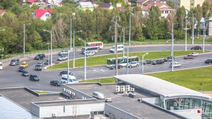 В Самаре частично перекроют Московское шоссе