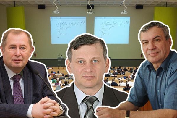 Ректоры НГУЭУ, НГТУ и НГУ опубликовали данные о своих доходах
