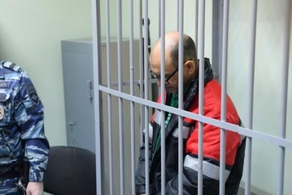 Владимир Пузырев в суде