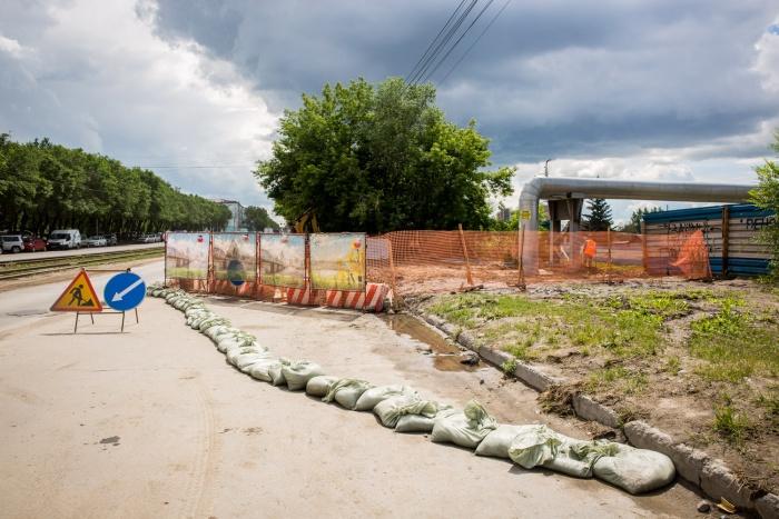 Последствия оползня на ул. Зыряновской ликвидируют к 4 июля