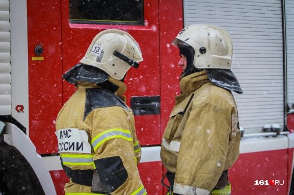 Пожарные погасили пламя за час