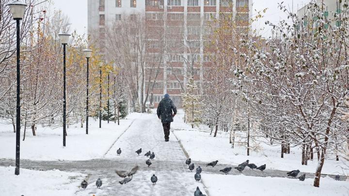 В Башкирии ляжет снег