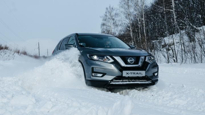 Новый Nissan X-Trail задал жару самарской зиме