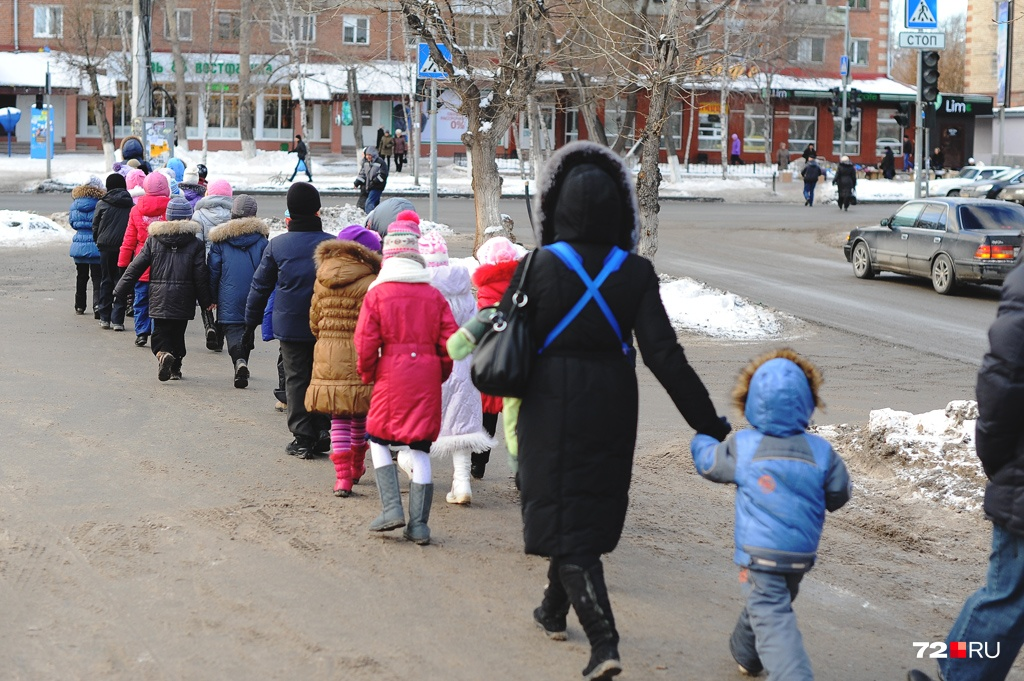 Российские семьи, как правило, заводят одного или двух детей