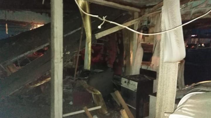 Дом сложился за секунды: в Башкирии мужчину обожгло из-за хлопка газа