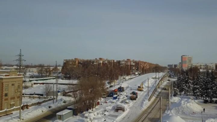 Чиновники рассказали, когда завершат реконструкцию Заводского шоссе