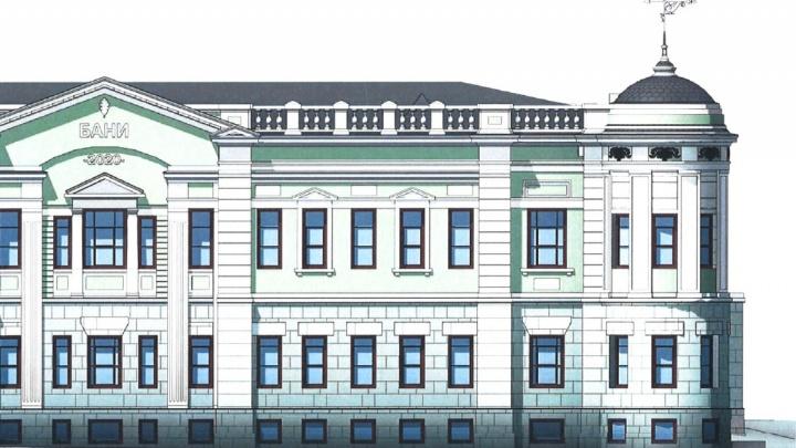 Вместо снесенной бани «Бодрость» начали строить новую — с рестораном и массажными комнатами