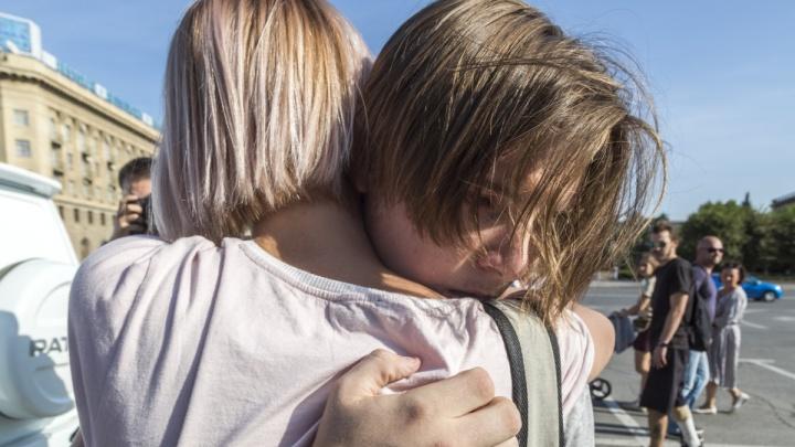 На митинге против пенсионной реформы в Волгограде задержали пять студентов и одного школьника