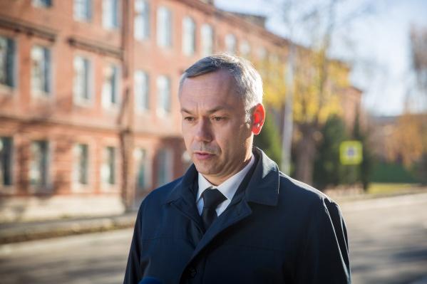 Андрей Травников остался недоволен инфраструктурой новосибирских поликлиник