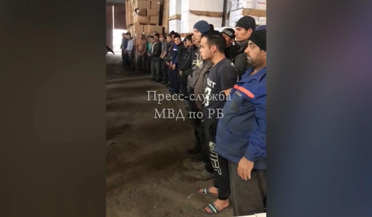 Здесь же нашли и рабочих — 36 выходцев из Республики Узбекистан