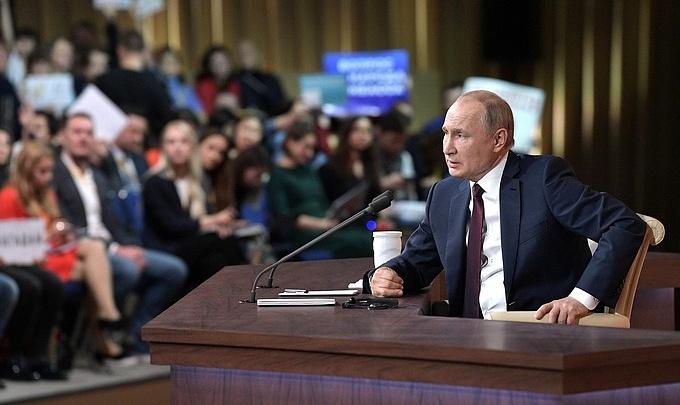 «Мы должны сделать свою часть работы»: Путин прокомментировал строительство моста у Климовки