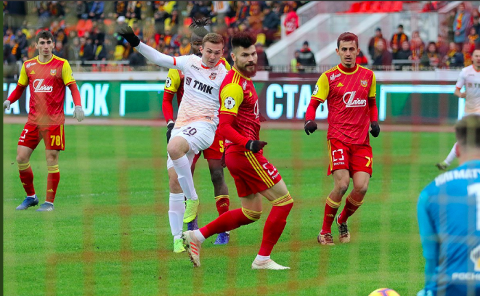 «Урал» и «Арсенал» активно атаковали на протяжении всего матча
