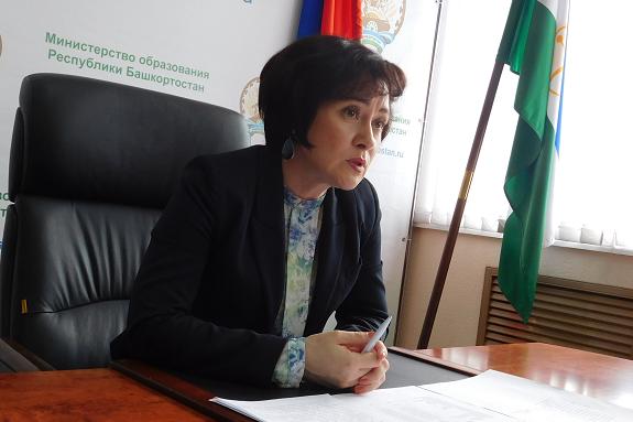 Шафикова три года занимала пост министра образования Башкирии