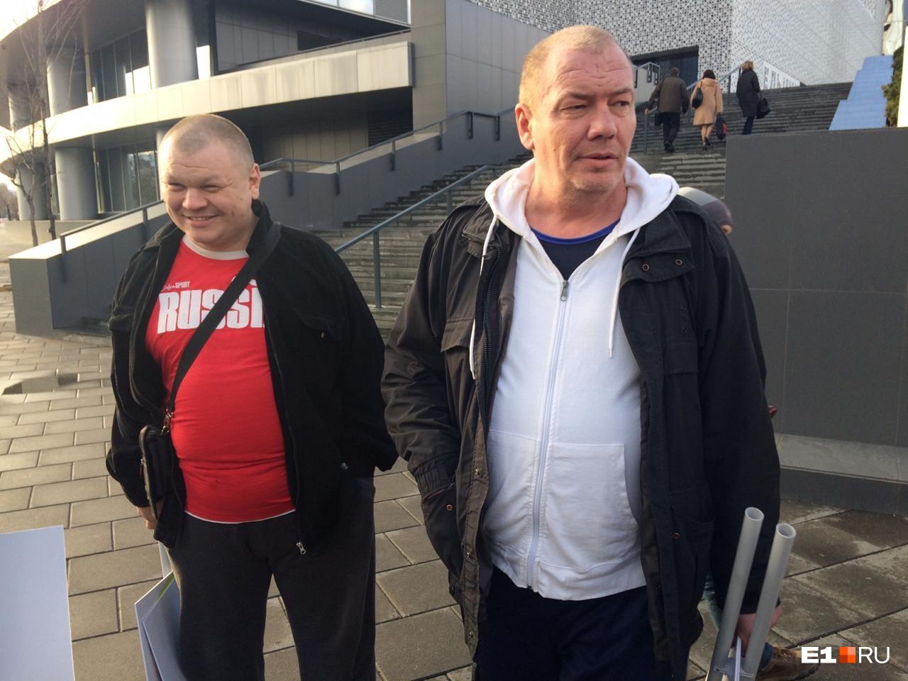 Вот еще двое активистов, выступающих против пропаганды ЛГБТ