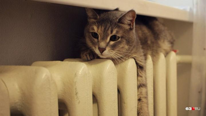 «Включаем отопление по основной схеме»: рабочие отремонтировали теплосеть на Полевой