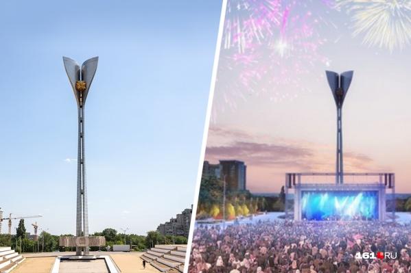 Самые массовые мероприятия в Ростове проходят на Театральной площади
