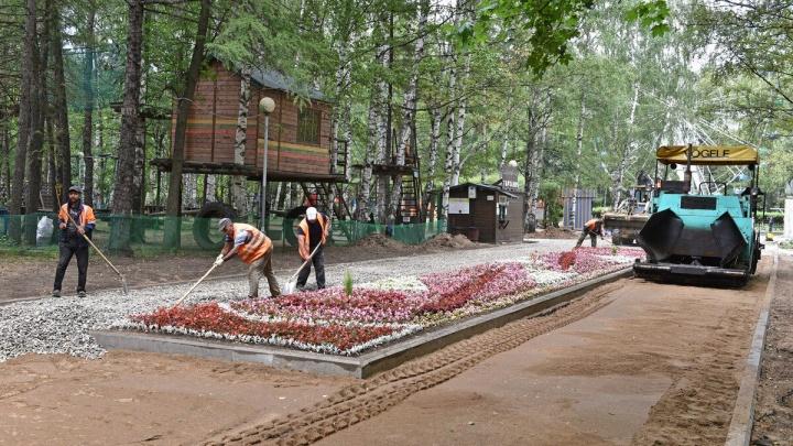 Успеть отремонтировать за ночь: стало известно, когда откроют обновлённый парк «Нефтяник»