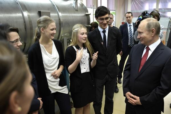 Глава государства побывал в Академгородке