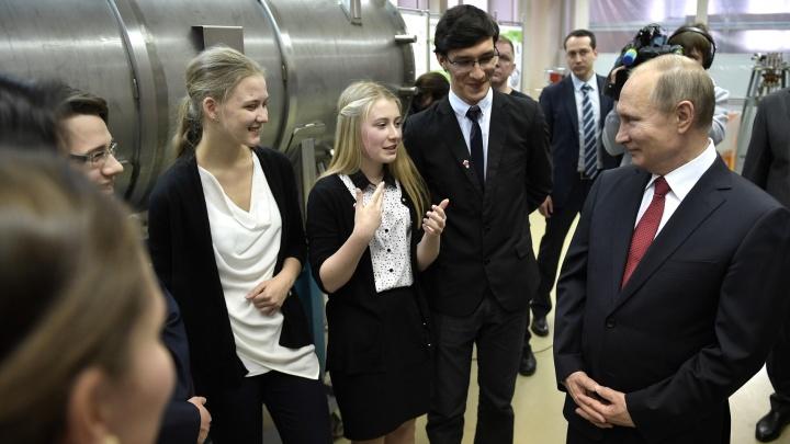 Владимир Путин улетел из Новосибирска
