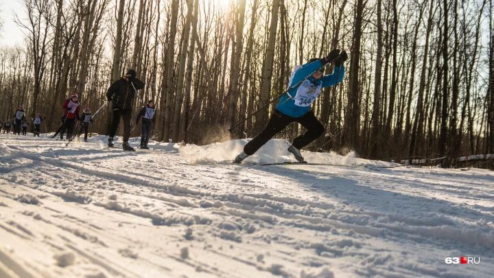 В Самарской области во время лыжной гонки умер 35-летний спортсмен
