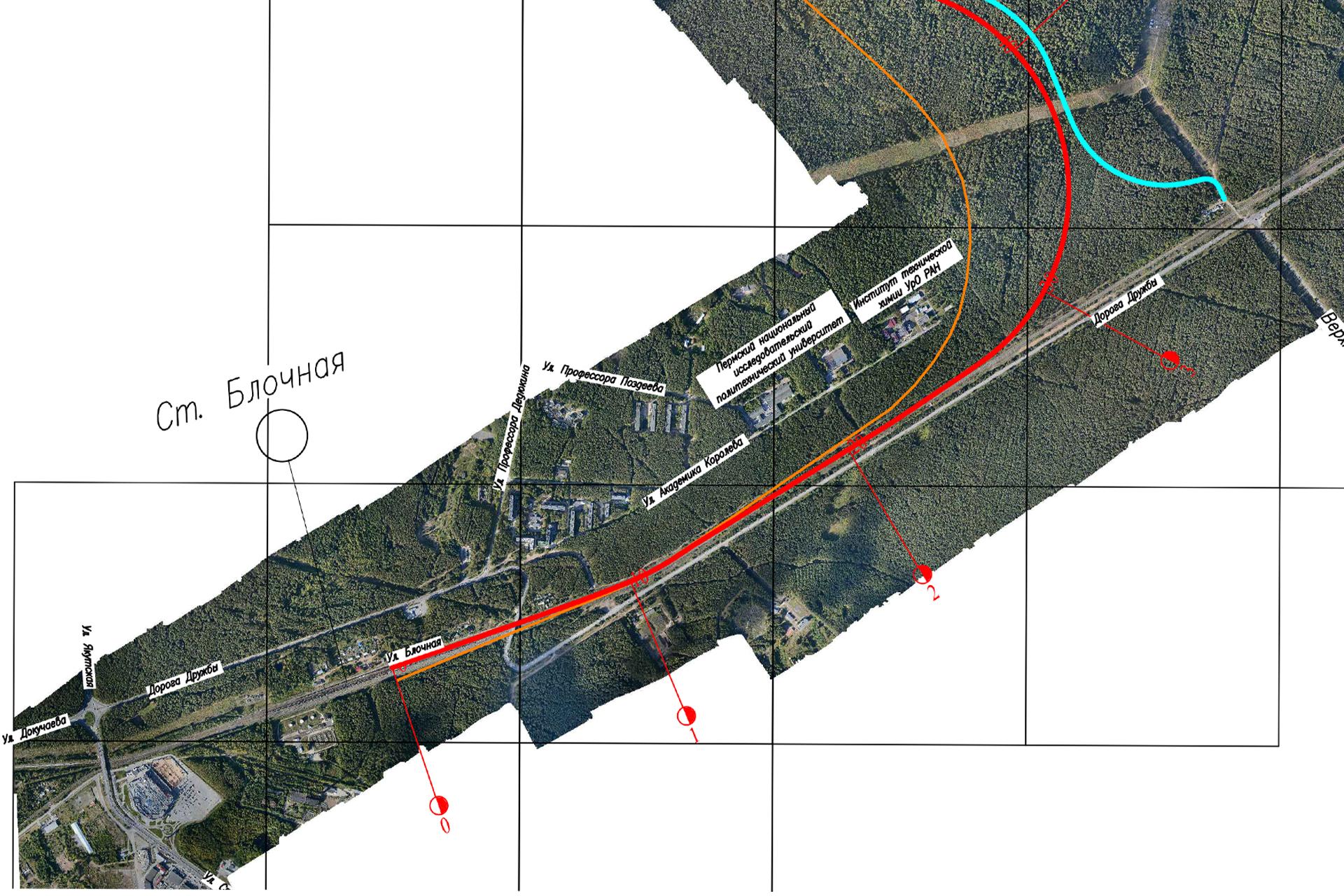Новую ветку проектируют от станции Блочная, которая находится рядом с комплексом ППИ