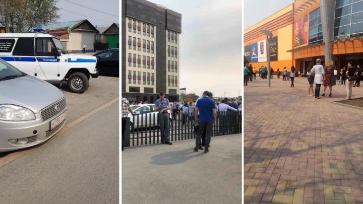 Как в Тюмени эвакуировали бизнес-центры и ТРЦ: странные однотипные сообщения и рассказы очевидцев