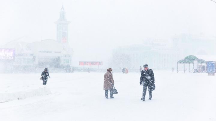 Синоптики рассказали о погоде на выходных в Новосибирске: температура выше нормы и метели