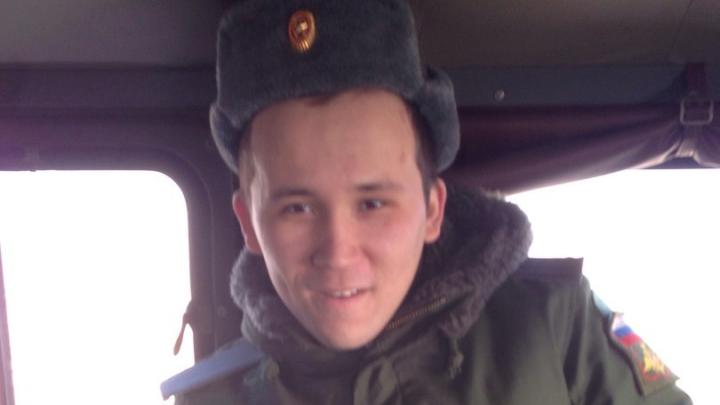 Пропавшего солдата из Башкирии доставили в часть Чебаркульского гарнизона