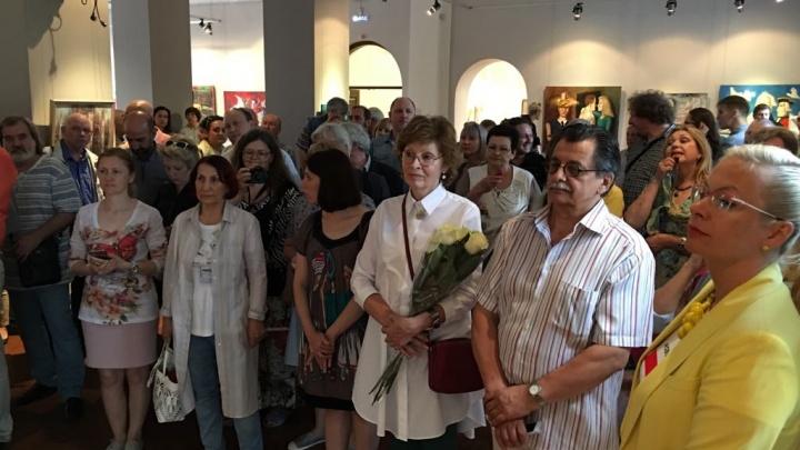 В Новосибирске открылась выставка памяти художника Александра Шурица