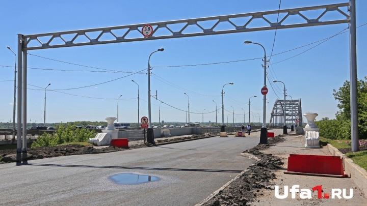 Движение по старому Бельскому мосту в Уфе откроют в 5 утра