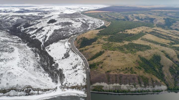 На перекрестке сезонов: смотрим на красоты Волгоградской области, застрявшей между летом и зимой