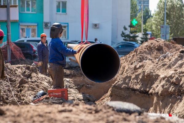 Дорогу разроют ради замены труб