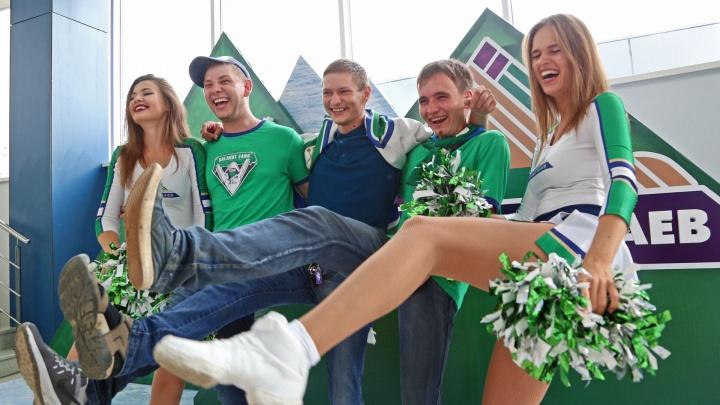 Игра с «золотым» составом: уфимский «Салават Юлаев» отметил начало сезона