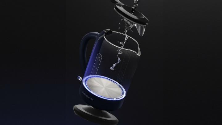 Впервые в России: Polaris представил революционный чайник с заливом воды без открытия крышки