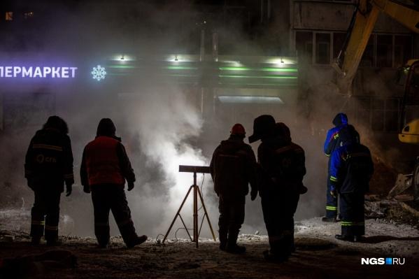 Двойная коммунальная авария оставила более 40 многоквартирных домов без тепла в –25 градусов