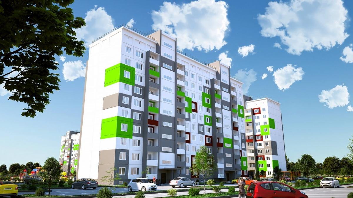 Новую квартиру с ремонтом можно купить за 990 тысяч рублей