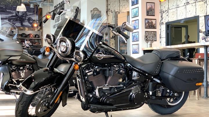В честь пятилетия салон Harley-Davidson Новосибирск продаст легенду за 589 тысяч