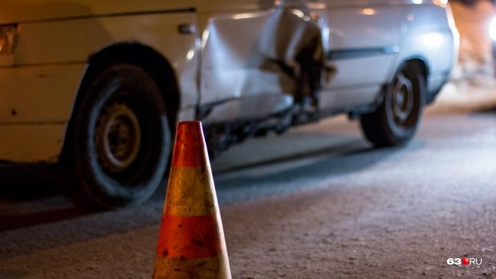 На обводной дороге в Самарской области водитель ГАЗ насмерть сбил пешехода