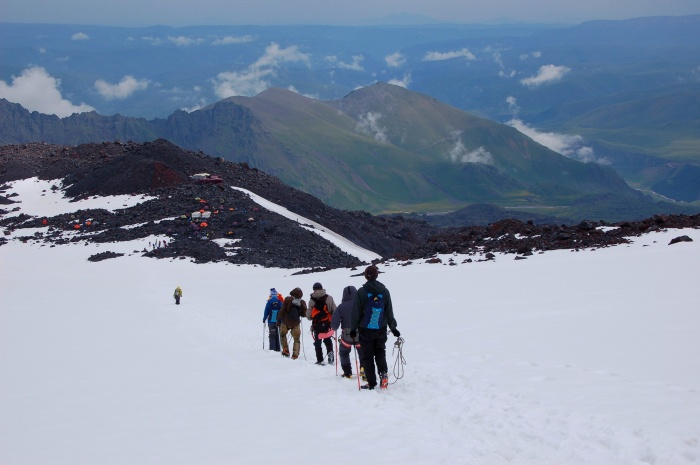 Екатеринбуржец ходил на Кавказ во второй раз, но выбрал более сложный маршрут