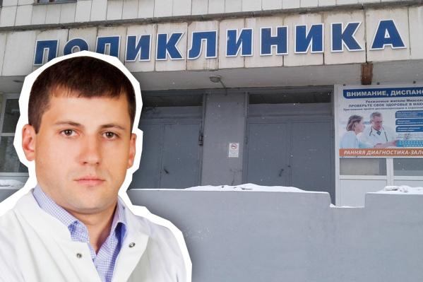 Антон Криушов — потомственный врач, эту же больницу раньше возглавлял его отец